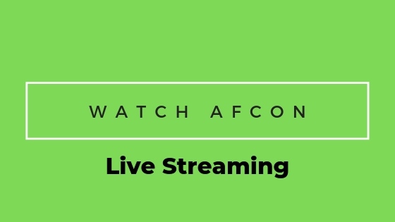 Watch Afcon Live Streaming